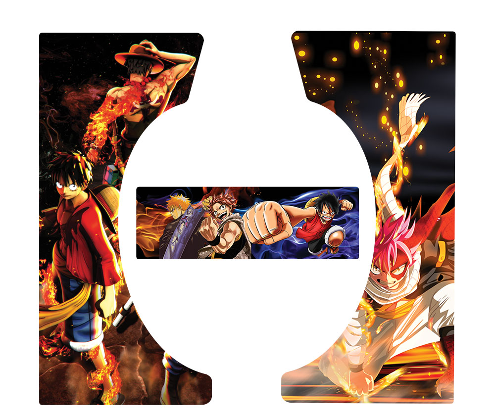 Produits Bleach: Stickers One Piece Bleach Fairy Tail Pour Socle PM88